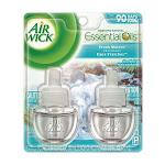 Air Wick Fresh Waters Scent Air Freshener Refill 0.67 oz. Liquid