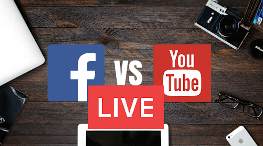 Youtube Live Streaming vs Facebook Live Streaming - StreamHash