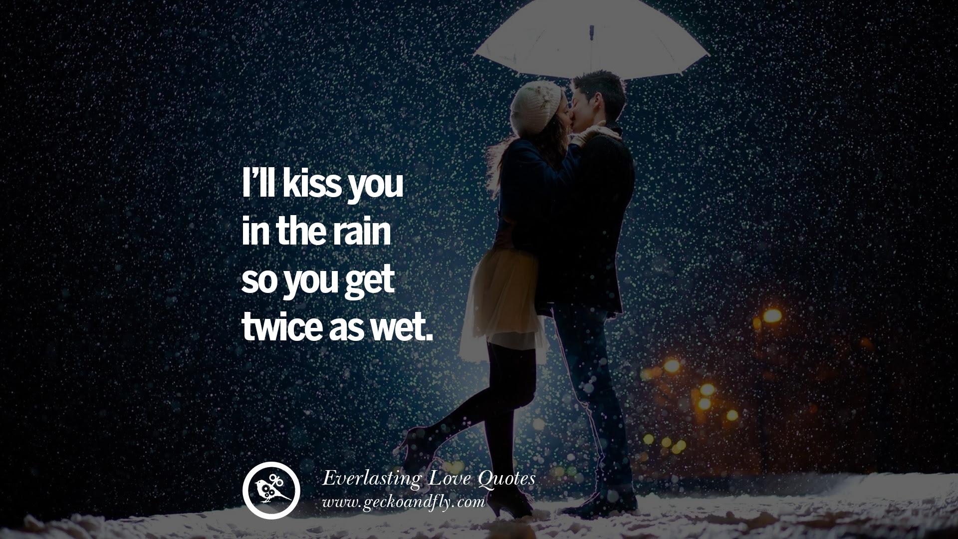 Romantic Couple In Rain Quotes American Go Association