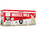 Muscle Milk Genuine Non-Dairy Protein Shake, Vanilla Creme