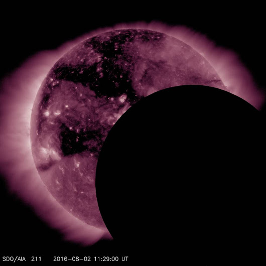 NASA Solar Observatory Suffers Hiccup During Eclipse (Photo)