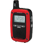 First Alert SFA1135 Weather Alert Radio with S.A.M.E./NOAA - Red/Black