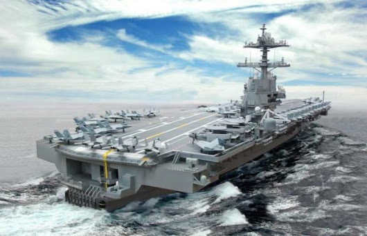 US Commissions Its Largest 100,000 Tons Naval Monster - Unshootables