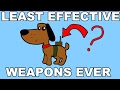 The Least Effective Weapons In History - Video
