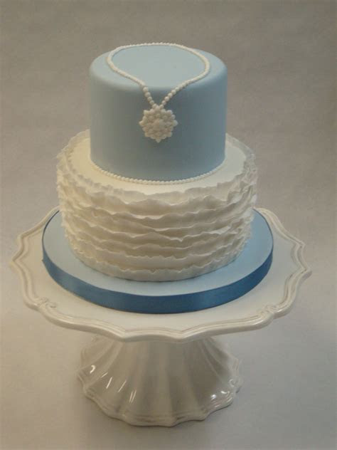 Fancy Frills Petite Cake   Wedding Cakes   Cakeology
