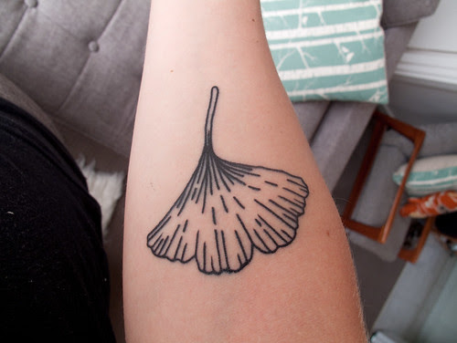ginkgo tattoo - from my perspective
