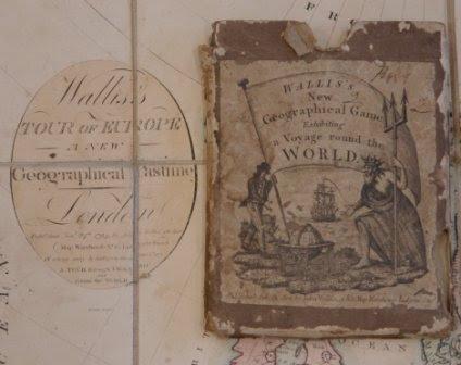 'Wallis's Tour of Europe - (cover)