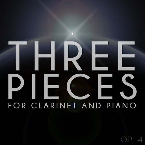 Three Pieces for Clarinet and Piano by Dylan B. Christopher