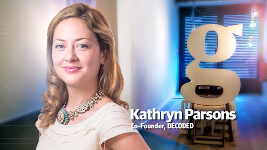 Decoded's Kathryn Parsons on demystifying the digital world – video