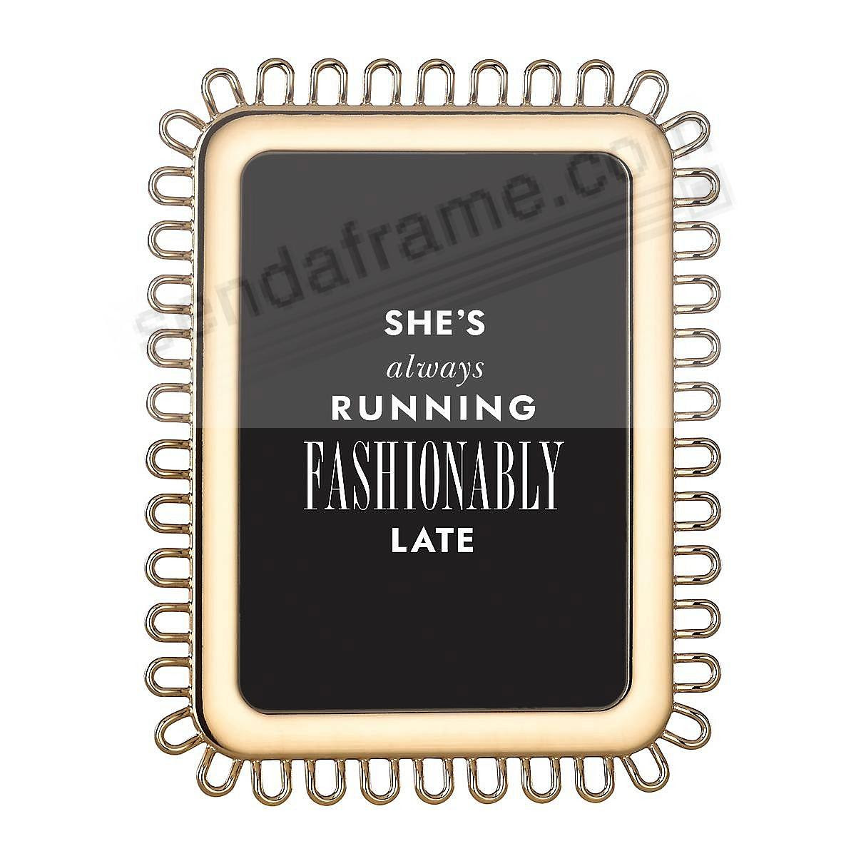 Keaton Street Gold Frame For 5x7 Prints By Kate Spade New York