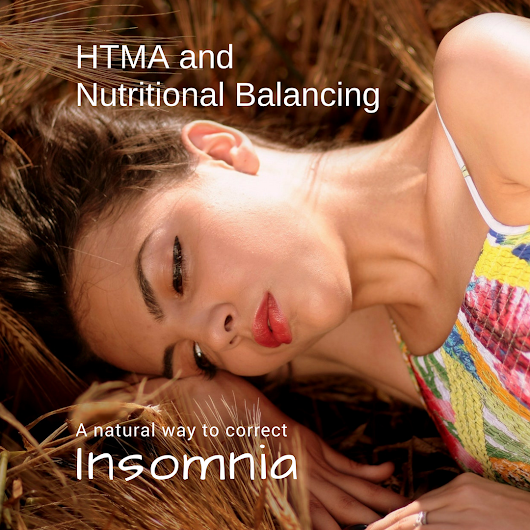 Correct Insomnia naturally with a Nutritional Balancing program