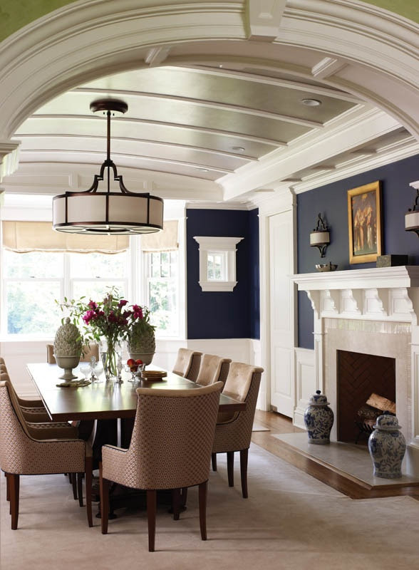 WHAT IF: Way down the road you made the living room a foyer and dining room, expanded the kitchen into the current dining room area and then added a big family room off the back opening to a covered porch (at same time you add a big master suite off back, too). Dream big.