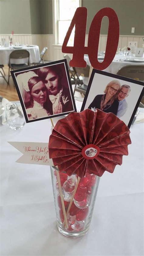 Ebay Ruby Wedding Decorations