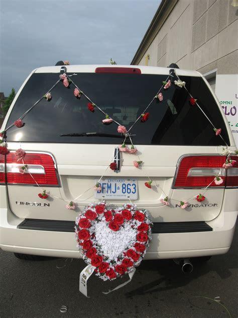 Wedding Car Decoration in Brampton, Mississauga and
