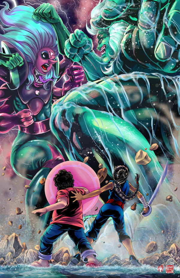 Steven Universe - Fusion Battle by TyrineCarver and Wil Woods So in all likelihood, Malachite's grand return to the stage isn't going to be like this… but how awesome would it be if it was? I mean…...