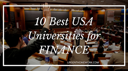 10 Best USA Universities to Major in Finance