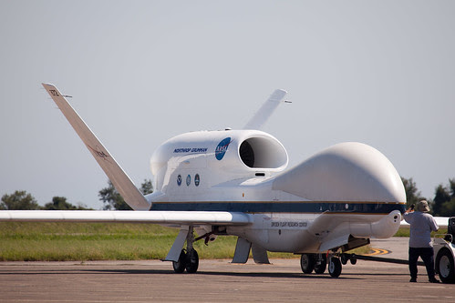 Global Hawk Arrival by NASA Goddard Space Flight Center