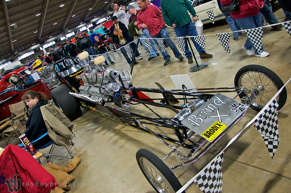 1960 Front Engine DragsterDual EngineFED