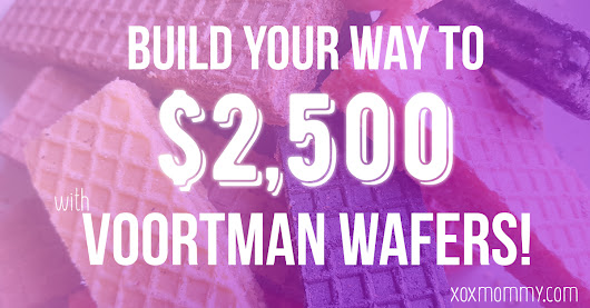 Build With Voortman and Win $2500! » xox Mommy