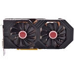 XFX Video Card RX-580P8DFD6 AMD RX 580 8GB 256Bit DDR5 PCI Express 3xDisplayPort/HDMI/DVI Retail