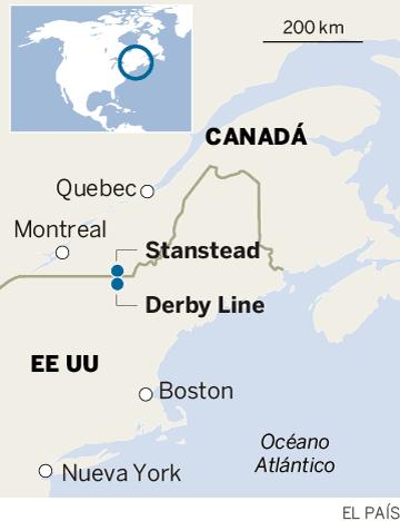 Cuando la frontera entre Canadá y Estados Unidos es una biblioteca y no un muro