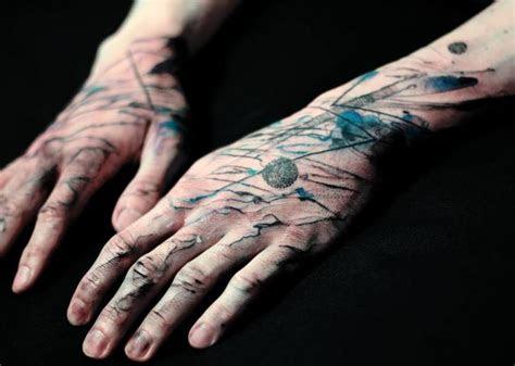 arm hand abstract tattoo dead romanoff tattoo