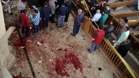 Blasts at Christian churches in Egypt kill dozens on Palm Sunday