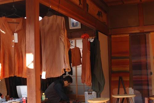 A shop of dye goods