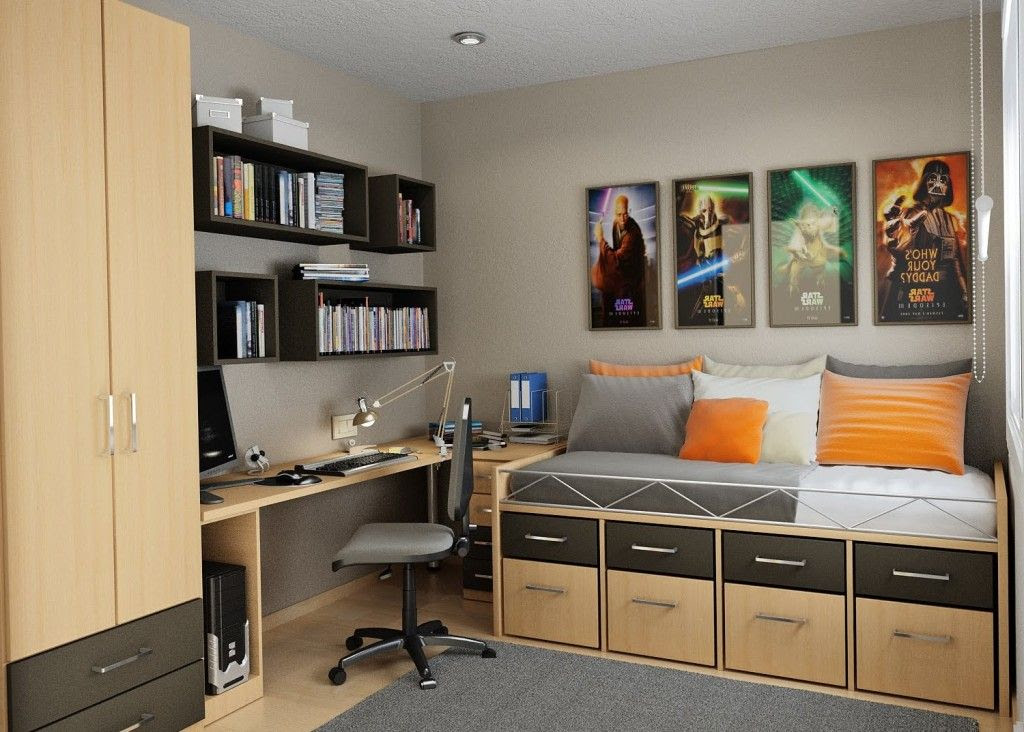 Small Bedroom Home Office Design Ideas Home Design Inpirations