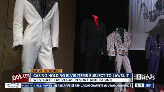Las Vegas casino holding Elvis Presley items subject to lawsuit