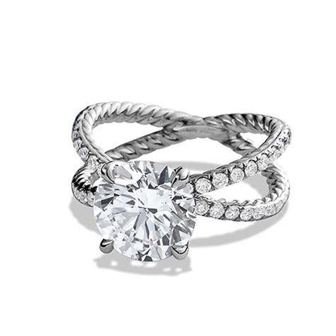 Twsited Engagement Rings   w e d d i n g ~ d r e s s e s