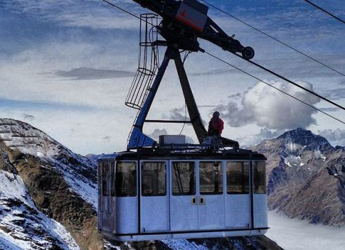Bormio, the 2013-2014 season starts with the new cable car 'Cima Bianca'