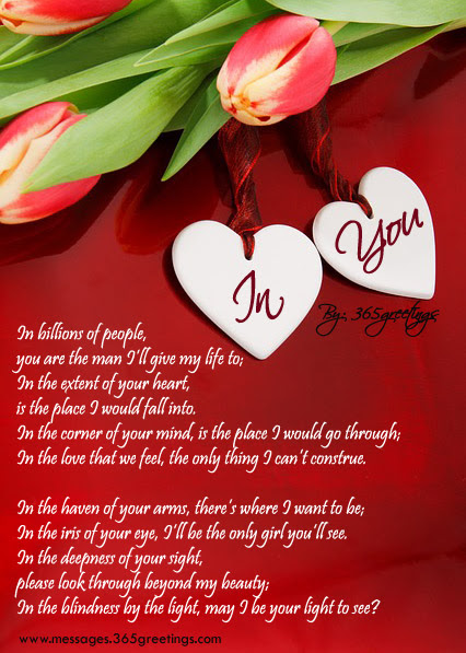 love poems for him on sms