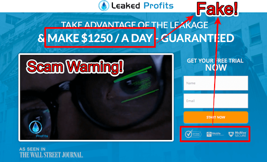 Leaked Profits Review - Avoid This Scam Software!