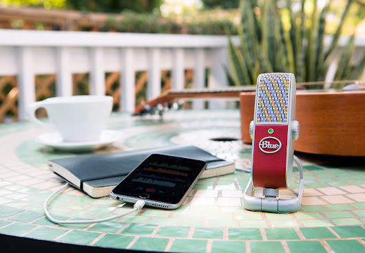 New Gear Review: Raspberry USB Microphone from Blue via SonicScoop | Careers in New Media