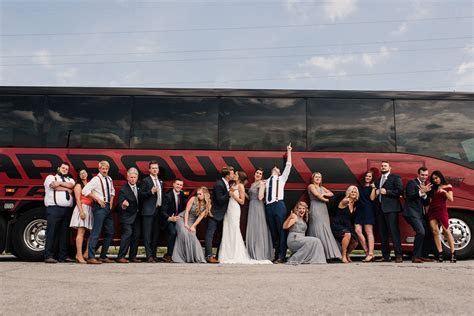 Best Wedding Transportation   Arrow Stage Lines