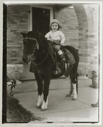 Girl on a pony