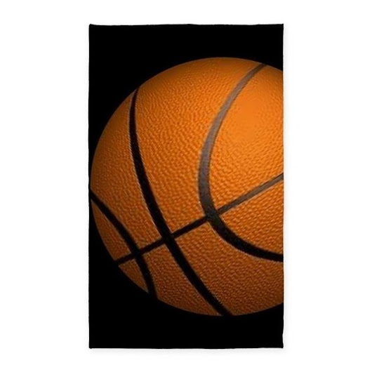 Basketball Big Wide Area Rug  | My Interests Scooped for You