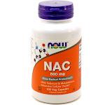 NAC 600 mg N-Acetyl Cysteine by Now Foods 100 Capsules