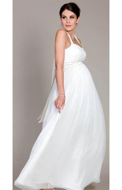 Alya Lace Maternity Wedding Dress (Long)   Maternity