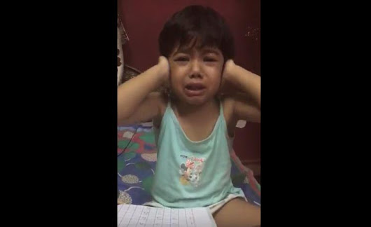 Crying child goes viral || Trying to explain her teacher || Viral video 2017