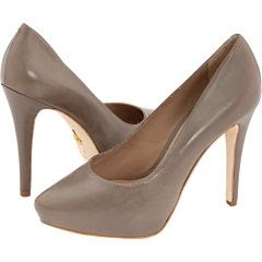 Pour La Victoire Bliss Pump in Grey Nappa Bat