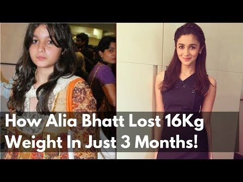 How Alia Bhatt Lost 16Kg Weight In Just 3 Months skin whitening treatment