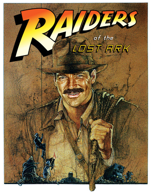 "The ""What If?"" picture: ""Trivia: Tom Selleck was Steven Spielberg's second choice for the role of Indiana Jones. Harrison Ford was his first, but George Lucas objected, since Ford had been in both American Graffiti (1973) and Star Wars (1977). Selleck was not able to take the role because he was committed to ""Magnum, P.I."" (1980). However, that series did not go into production until Raiders' filming had already wrapped. Selleck was in fact in Hawaii waiting for the series to start as the final scenes to be filmed (the opening sequence) were being shot in Hawaii. ""Magnum"" did an episode called ""Legend of the Lost Art"" that parodied ""Raiders"", complete with hat, whip, booby traps, etc."" Indiana Jones Tom Selleck by Gh0stbuster Via: r2witco 