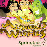 Springbok Giving South African Players up to R2500 to Play Aladdins Wishes Slot Online or in Mobile Casino