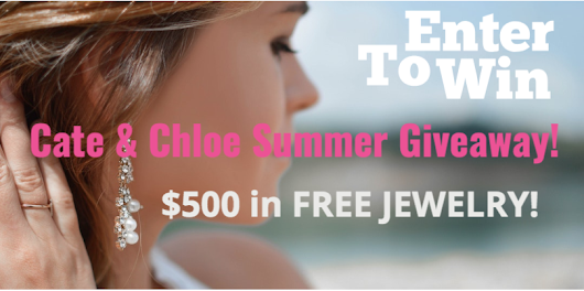 Check out the Cate and Chloe $500 Free Jewelry Giveaway