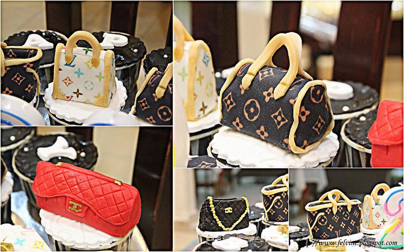 LV BAG CUP CAKE 1
