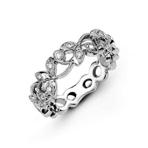 Laurel Diamond Wedding Band   Andres Fine Jewelers