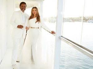 Ryca: Mãe da Beyoncé se casa com o ator Richard Lawson em um iate!