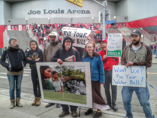 Hockeytown pay your $80,000 water bill to... | Occupy Detroit Voices